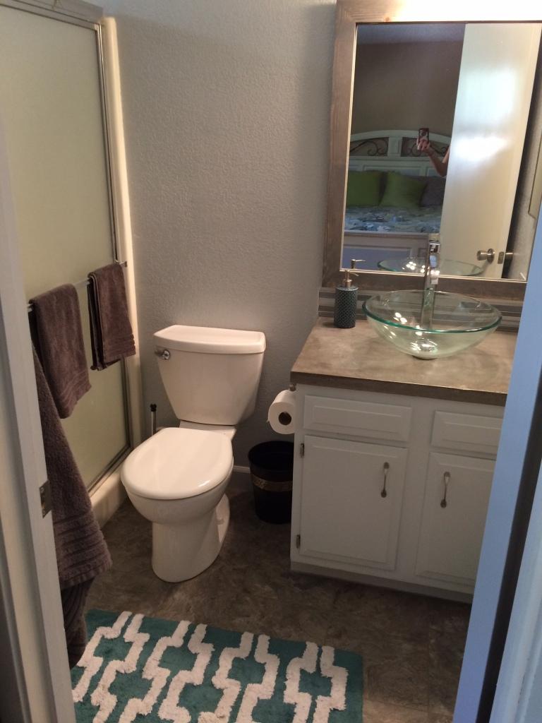 Master bathroom remodel pasoliving for Total bathroom remodel